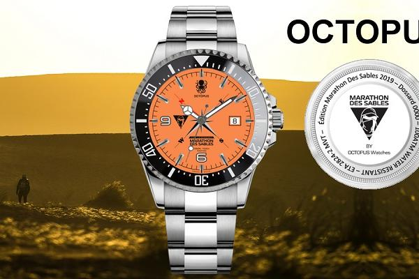 THE OCTOPUS 547 MDS WATCH IN EXCLUSIVITY FOR THE COMPETITORS OF THE 34th EDITION