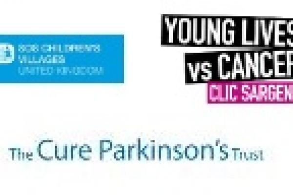 The Cure Parkinson's Trust - CLIC Sargent - SOS Children's Villages UK